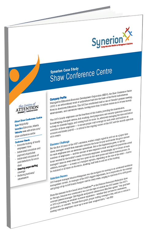 shaw_conference_centre_case_study